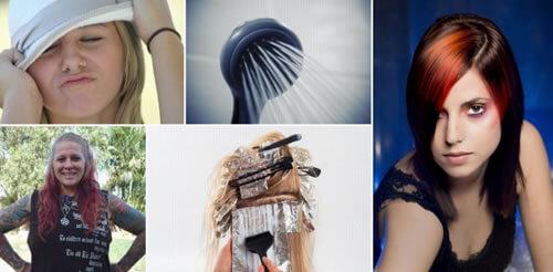 cuidados del cabello teñido